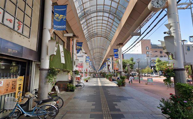 権堂商店街